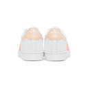 adidas Originals White and Pink Superstar Sneakers