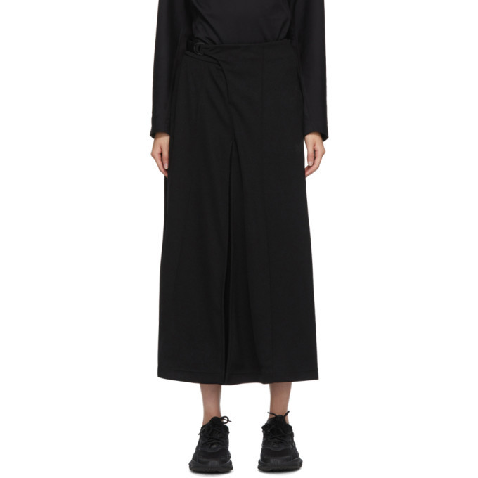 Photo: Y-3 Black Classic Tailored Track Skirt