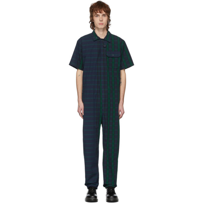 Photo: Engineered Garments Multicolor Blackwatch Combi Jumpsuit