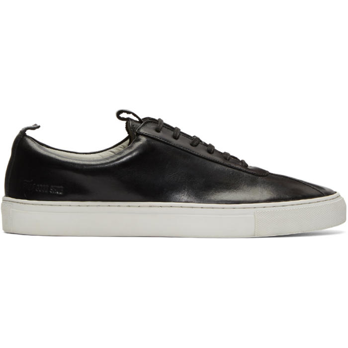 Photo: Grenson Black Leather Sneakers