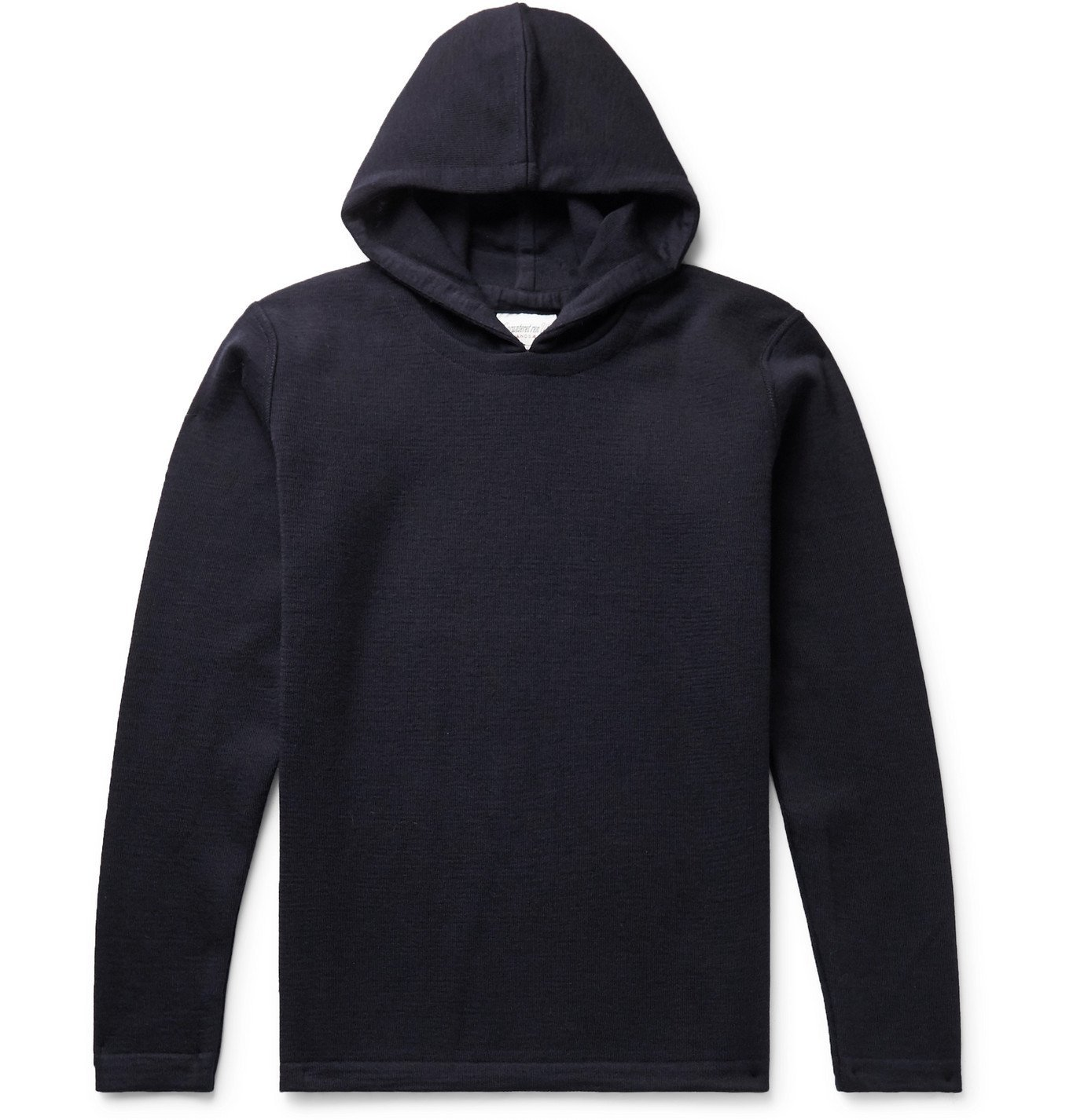 Photo: S.N.S. Herning - Naval Virgin Wool Hoodie - Blue