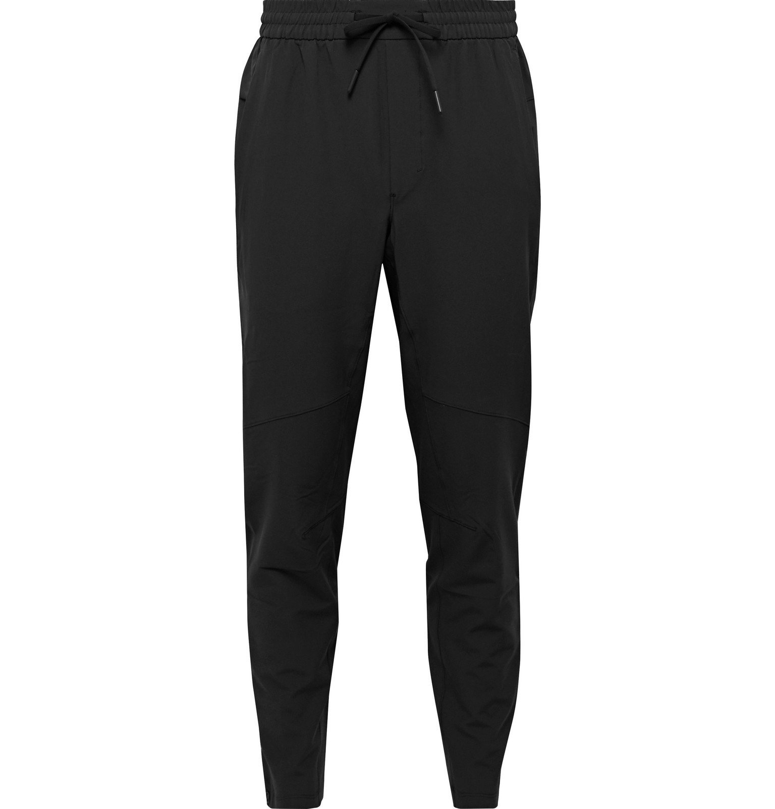 Photo: Lululemon - License To Train Slim-Fit Tapered Glyde Sweatpants - Black