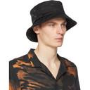 Ksubi Black Icognito Bucket Hat