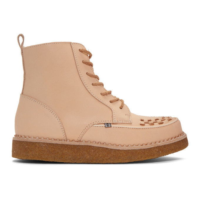 Photo: Stay Made Beige TUK Edition Creeper Boots