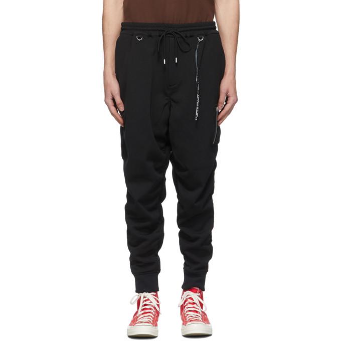Photo: mastermind WORLD Black Ruched Lounge Pants