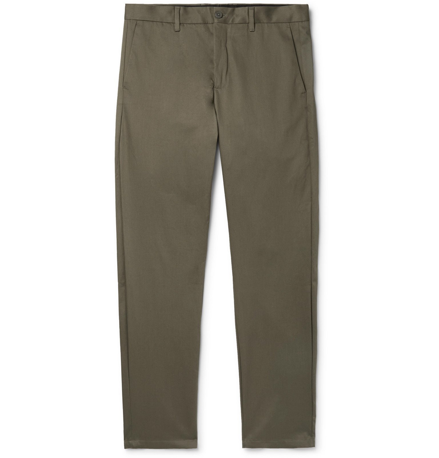 Photo: Norse Projects - Albin Cotton-Twill Chinos - Green