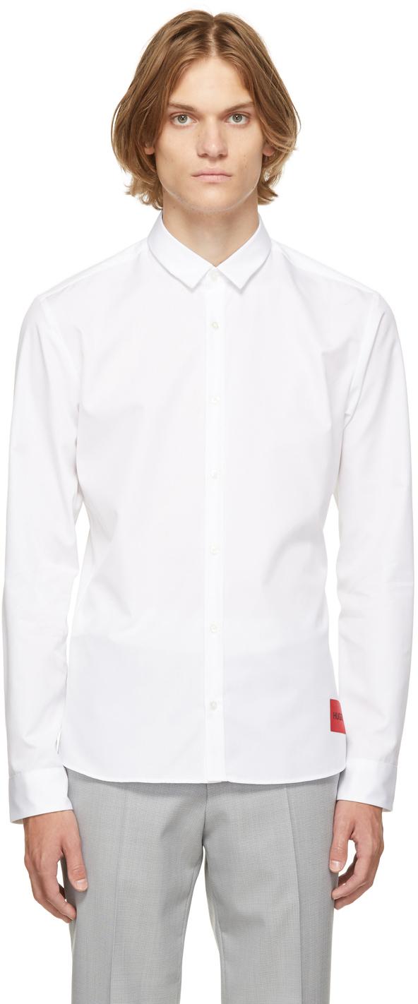 Hugo White Ero3 Shirt