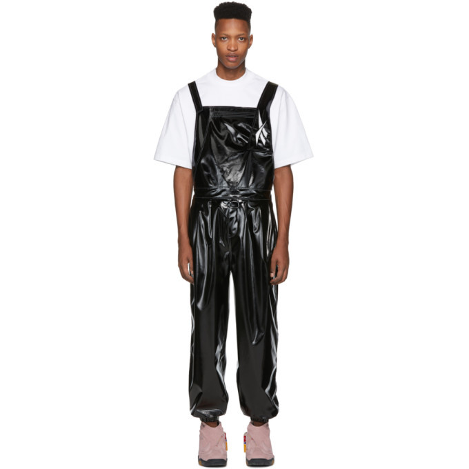 Photo: Reebok by Pyer Moss Black Raggamuffin Overalls