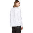 1017 ALYX 9SM White Long Sleeve First Catalogue Covers T-Shirt