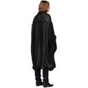 Raf Simons Black Big Lining Coat