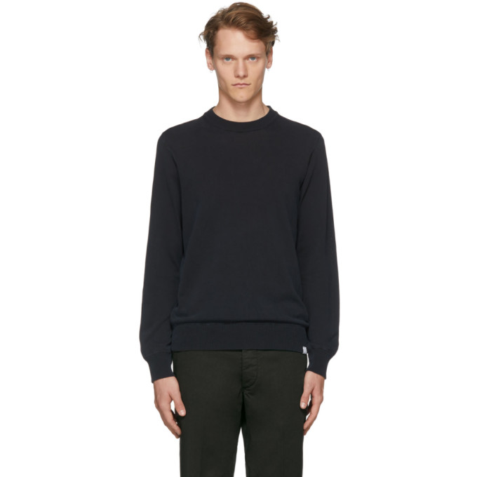 Photo: Norse Projects Navy Magnus Summer Crew Sweater
