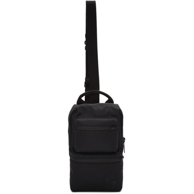 Photo: Giorgio Armani Black Logo Bodypack