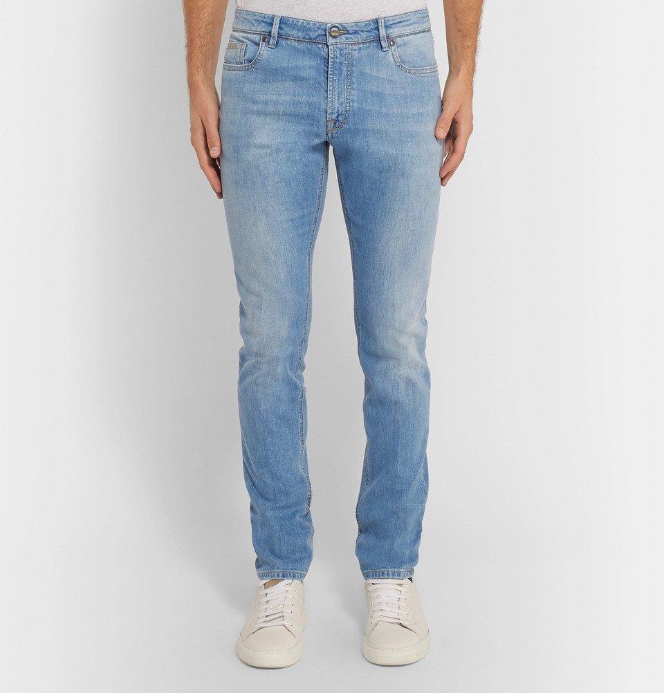 Tod's - Slim-Fit Denim Jeans - Blue