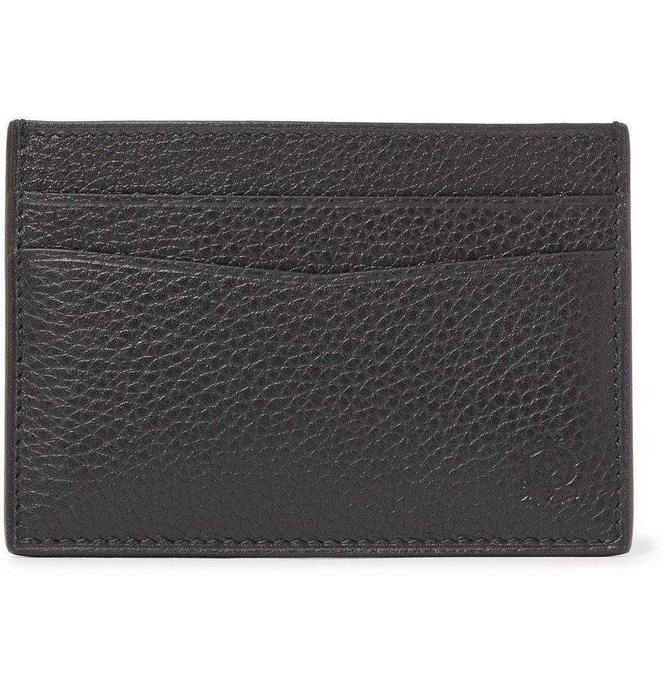Dunhill - Boston Full-Grain Leather Cardholder - Men - Black