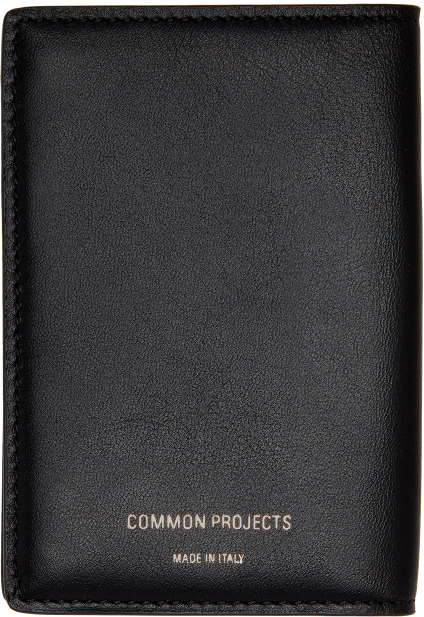 Photo: Common Projects Black Folio Wallet
