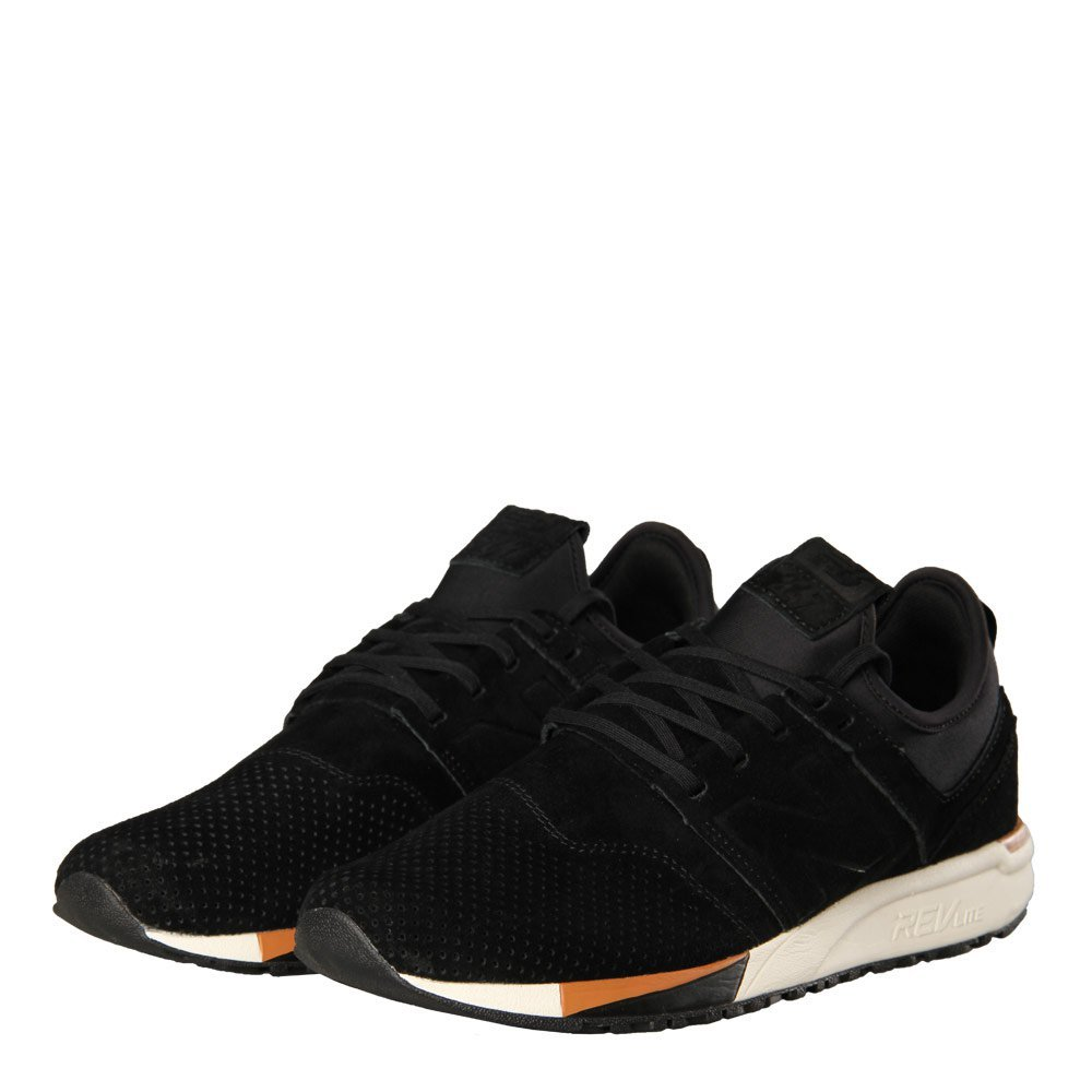 247 Luxe Trainers - Black