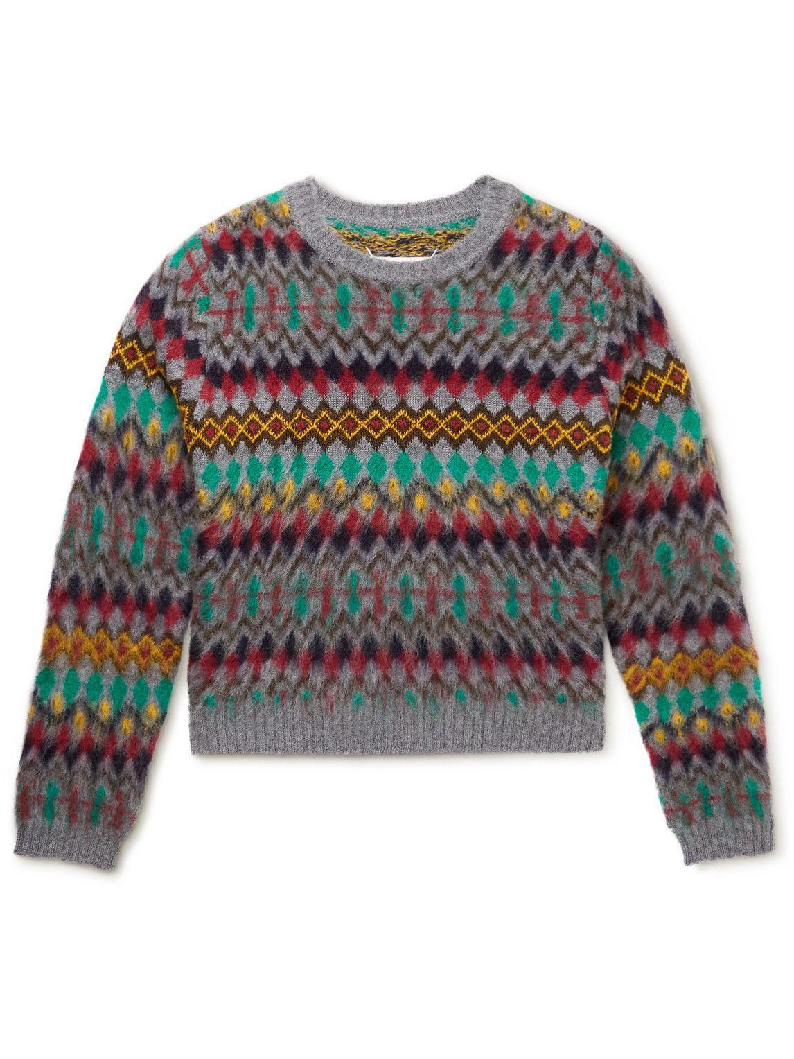 Photo: Maison Margiela - Wool-Jacquard Sweater - Multi