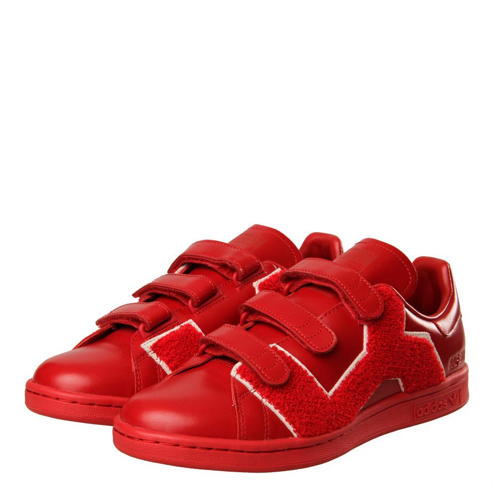 Stan Smith Comfort Badge Sneakers - Red