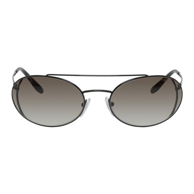 Photo: Prada Black Metal Frame Sunglasses