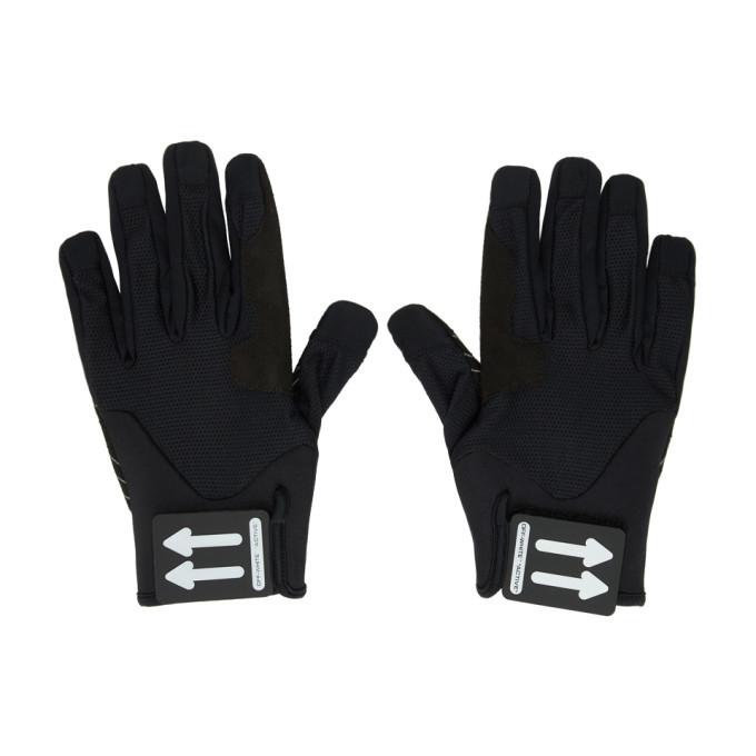 Photo: Off-White Black Active Gloves
