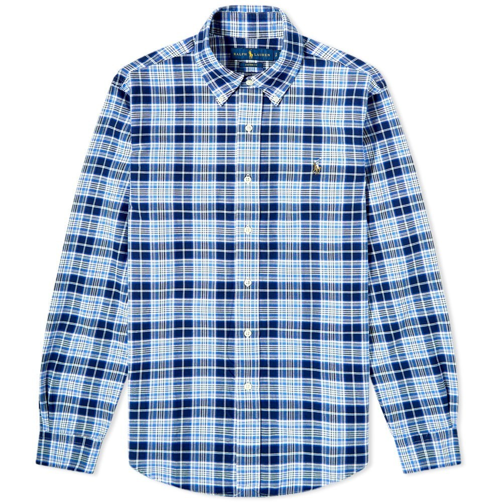 Photo: Polo Ralph Lauren Custom Fit Check Button Down Shirt