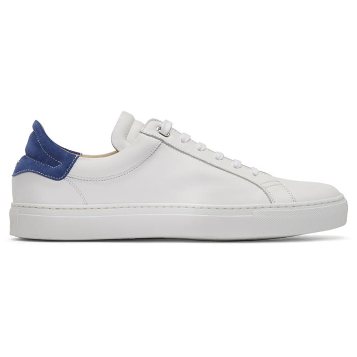 Photo: Belstaff White and Blue Dagenham 2.0 Sneakers