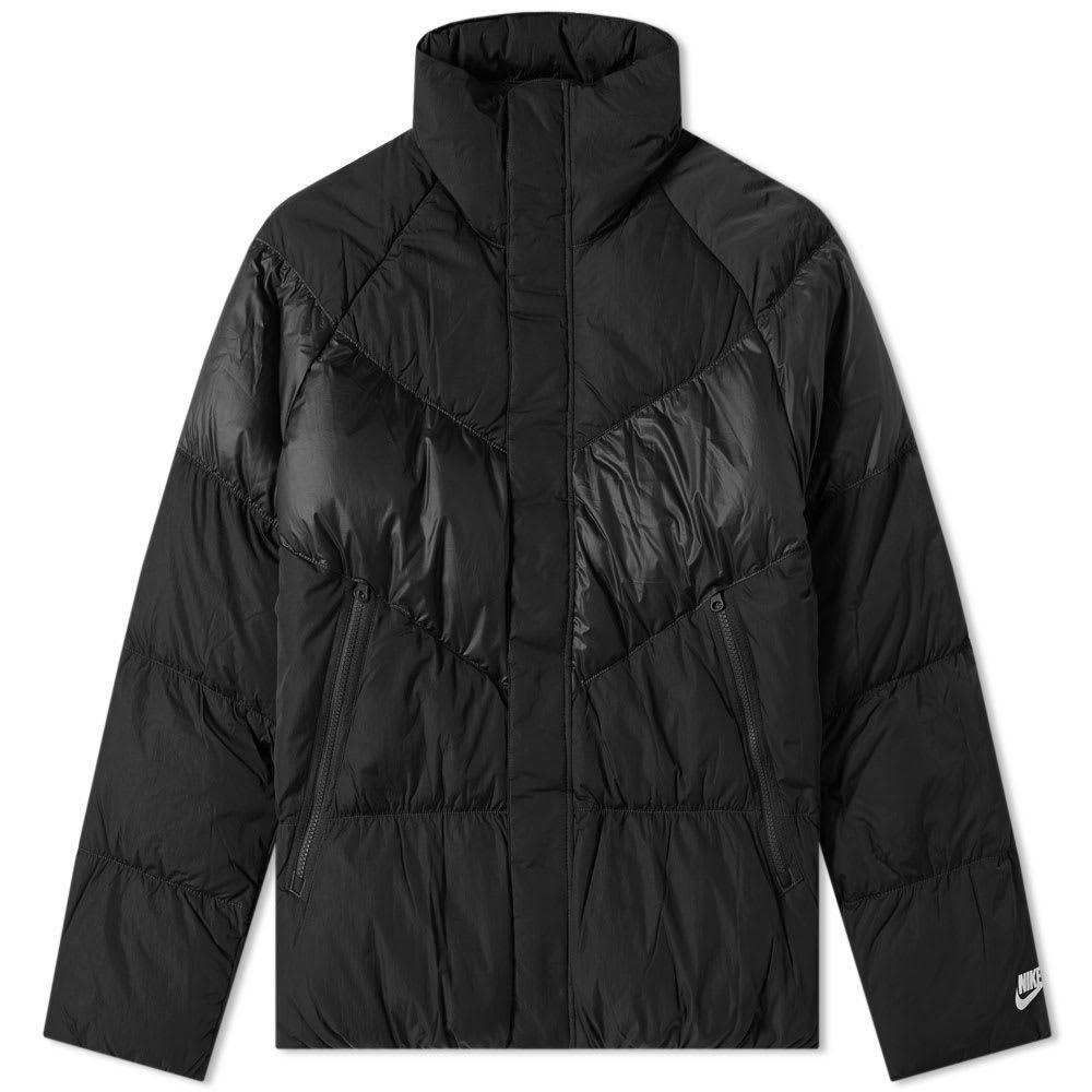 Photo: Nike Down Jacket Black & White