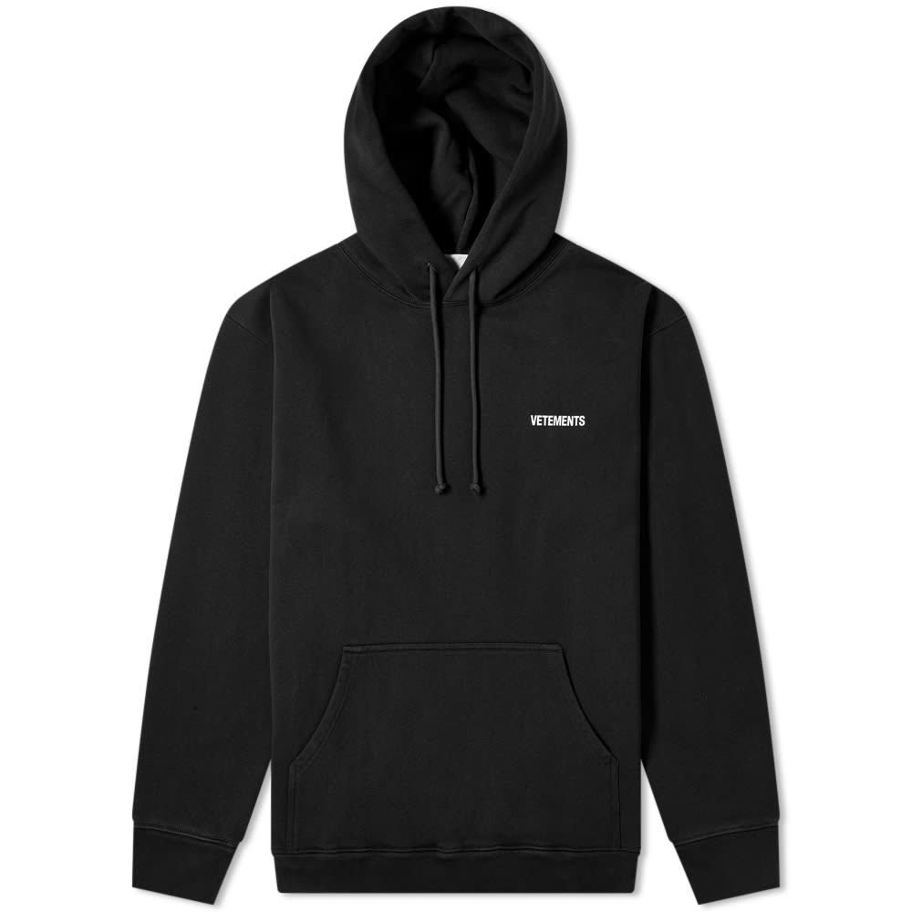 Photo: VETEMENTS Small Logo Popover Hoody