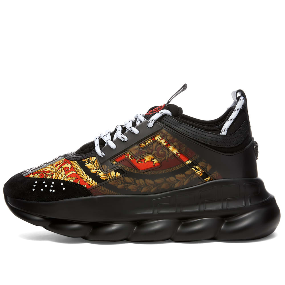 Versace Printed Chain Reaction Sneaker