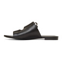 3.1 Phillip Lim Black Alix Flat Sandals
