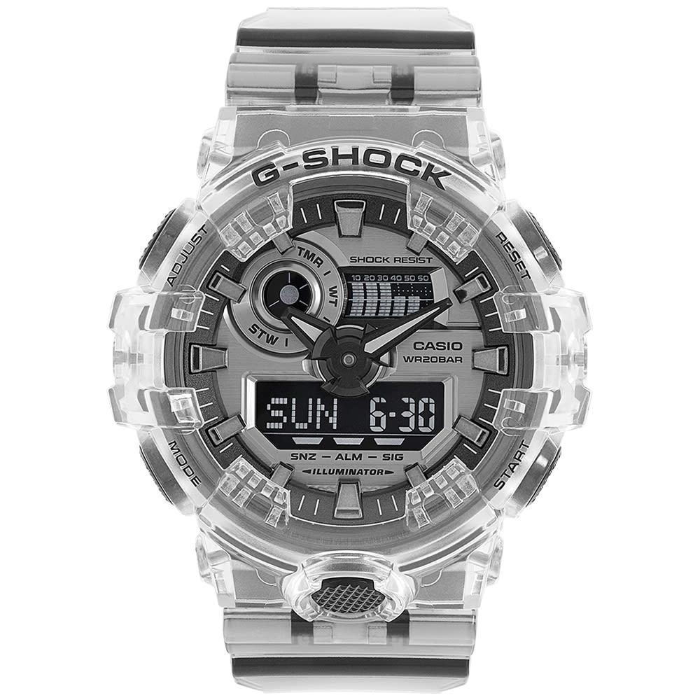 Photo: G-Shock GA-700SK-1AER Skeleton Series Watch