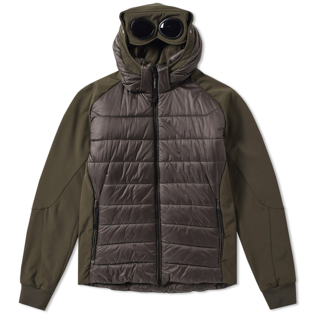 C.P. Company Softshell Goggle Raglan Down Jacket