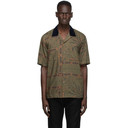 Sacai Khaki Dr. Woo Edition Bandana Short Sleeve Shirt