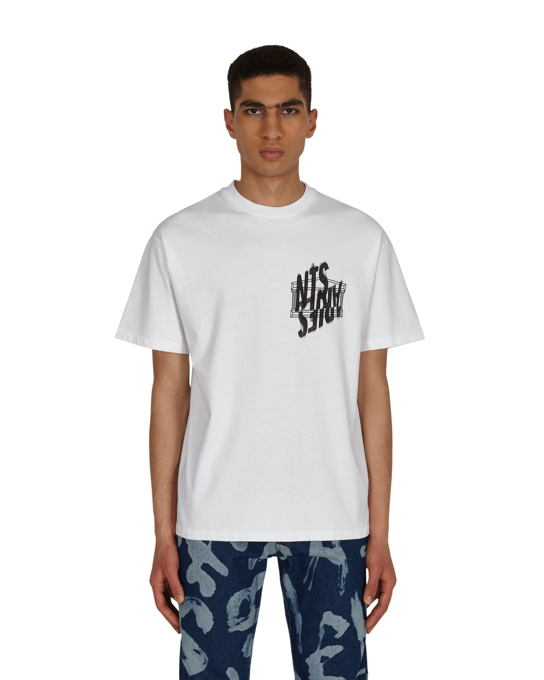 Photo: Aries Collab Nts Doomsday T Shirt White