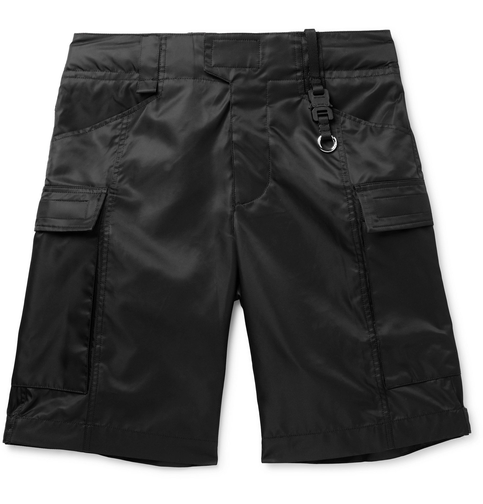 Photo: 1017 ALYX 9SM - Nylon Cargo Shorts - Black