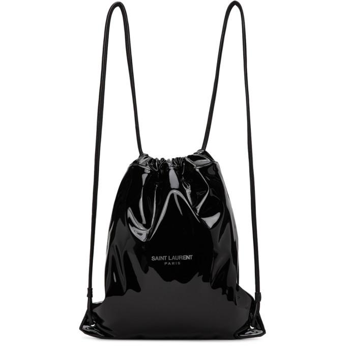 Photo: Saint Laurent Black Teddy Backpack