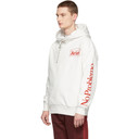 Aries White Double Thickness Temple Hoodie