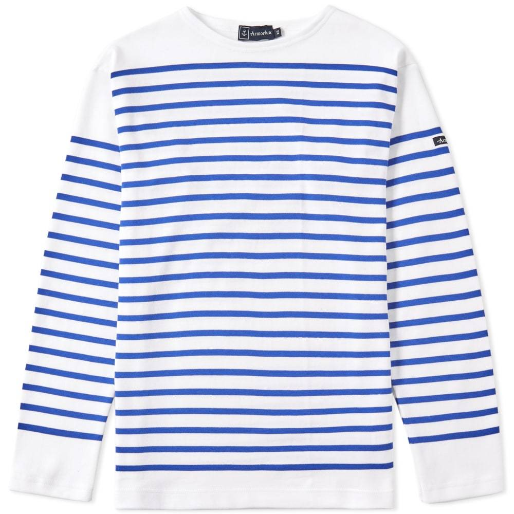 Photo: Armor-Lux 1140 Long Sleeve Sailor Tee Blue