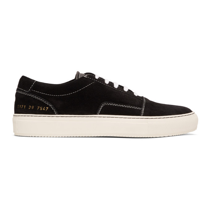 common project black suede