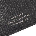 Smythson - Full-Grain Leather Cardholder - Black