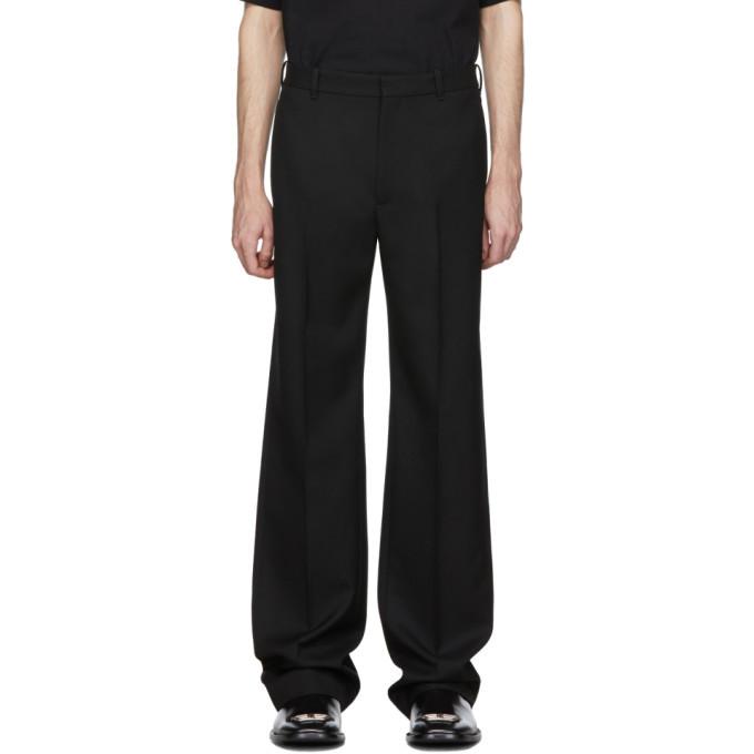 Photo: Balenciaga Black Tailored Trousers