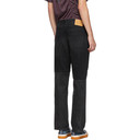 Martine Rose Black Two-Piece Jeans