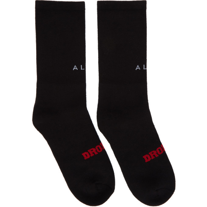 Photo: Alyx Black Dropout Socks