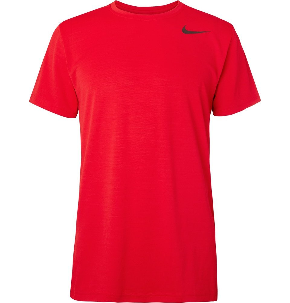 Photo: Nike Training - Superset Dri-FIT T-Shirt - Red
