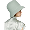 Nina Ricci Blue High Beach Hat