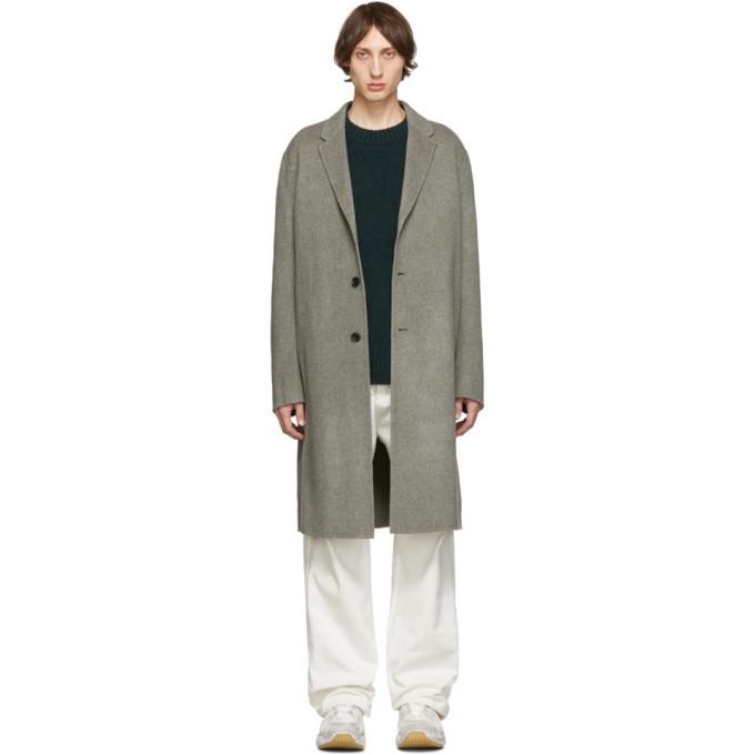 Acne Studios Grey Chad Coat