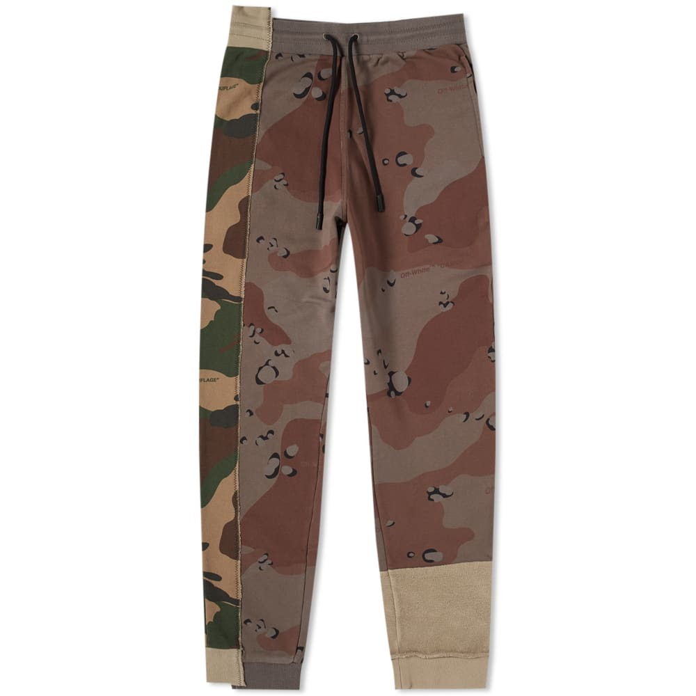 Photo: Off-White Reconstructed Camo Sweat Pant