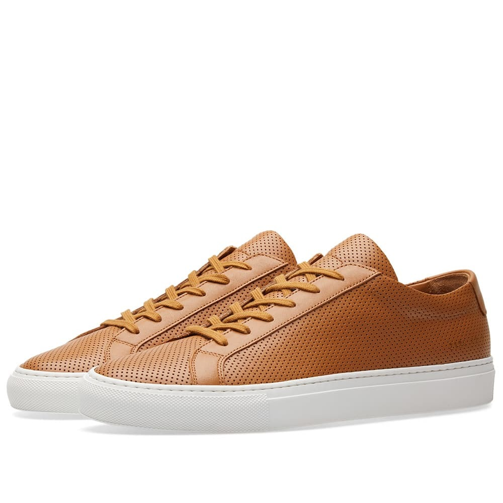 Common Projects Achilles Low Perforated Brown
