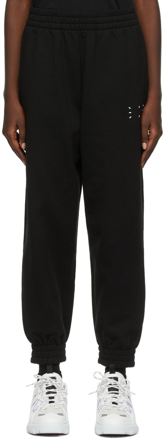 MCQ Black Regular Lounge Pants