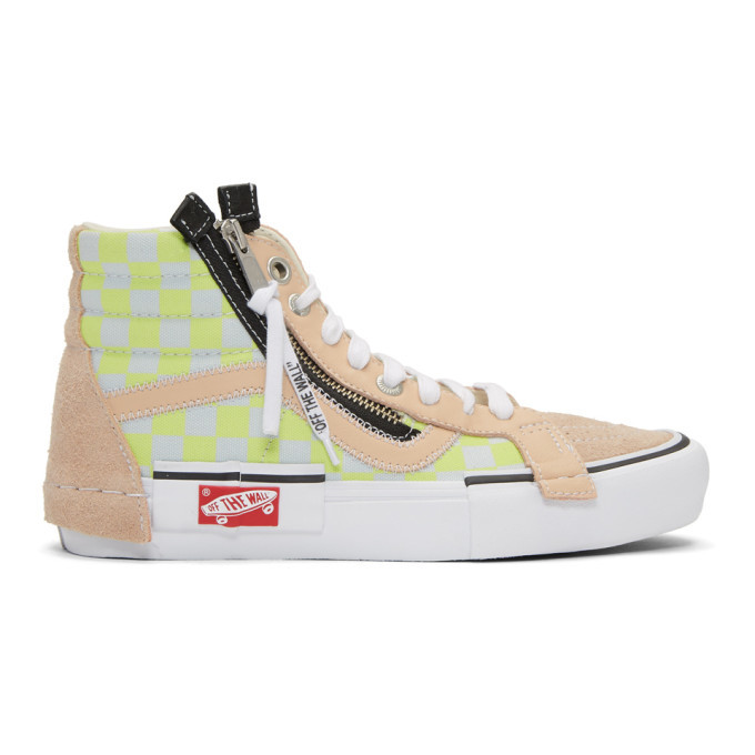 Photo: Vans Pink Sk8-Hi Cap LX Sneakers